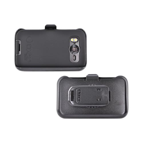 Original Otterbox Defender Series HTC Inspire 4G Case & Holster w/ Belt Clip, HTC2-DESHD-20-E40TR - Black