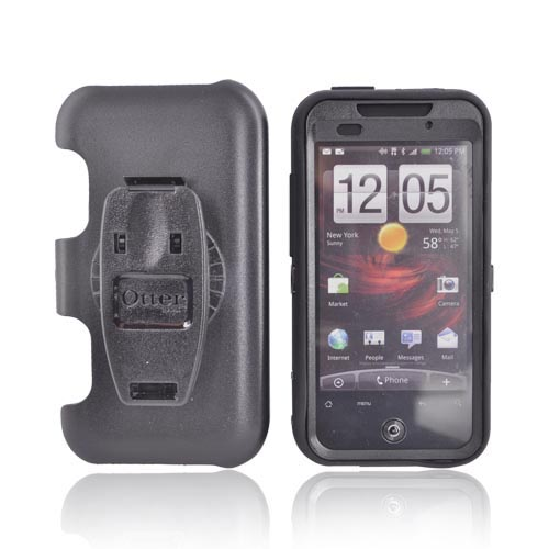 Original Otterbox HTC Droid Incredible Hard Defender Series Case w/ Holster, HTC2-INCRD-20-C - Black