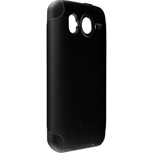 Original Otterbox HTC Inspire 4G Hybrid Commuter Series Hard Case w/ Screen Protector, HTC4-DESHD-20-E - Black