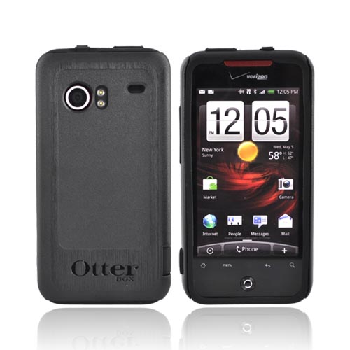 Original Otterbox HTC Droid Incredible Commuter Series Case w/ Screen Protector, HTC4-INCRD-20-C - Black
