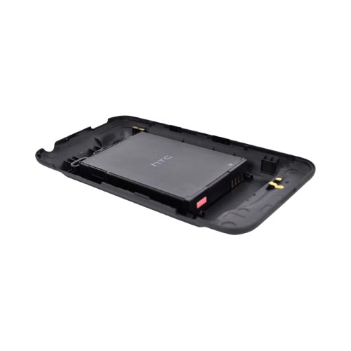 Original Verizon HTC Droid Incredible 2 Extended Battery (2150 mAh) w/ Rubberized Door, HTC6350BATX - Black
