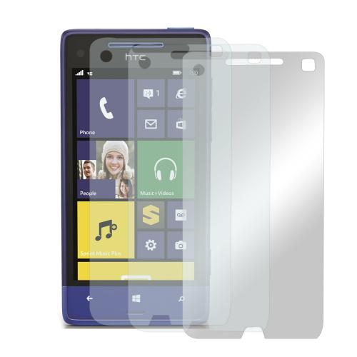 Screen Protector Medley w/ Regular, Anti-Glare, & Mirror Screen Protectors for HTC 8XT