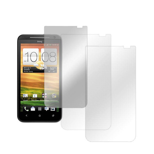 HTC EVO 4G LTE Screen Protector Medley w/ Regular, Anti-Glare, & Mirror Screen Protectors