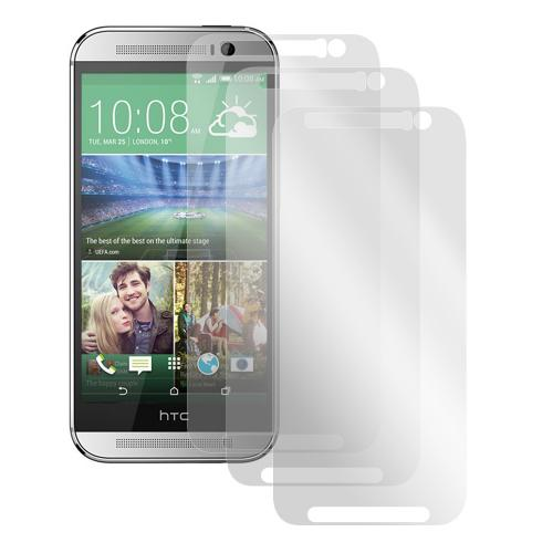 Screen Protector Medley w/ Regular, Anti-Glare, & Mirror Screen Protectors for HTC One (M8)