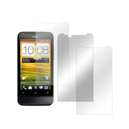 HTC One V Screen Protector Medley w/ Regular, Anti-Glare, & Mirror Screen Protectors
