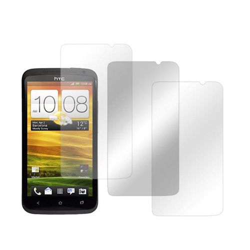 HTC One X Screen Protector Medley w/ Regular, Anti-Glare, & Mirror Screen Protectors