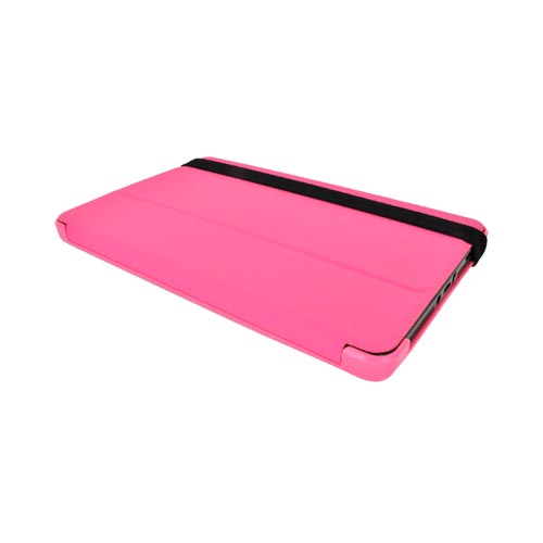 Original iLuv Amazon Kindle Fire Ultra Slim Folio Cover Hard Case Stand, IAK507PNK - Pink