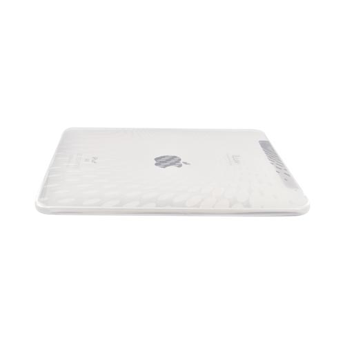 Original iLuv Apple iPad (1st Gen) Flexi-Clear Case with Hard Folding Stand , ICC802CLR - Circle Design on Clear