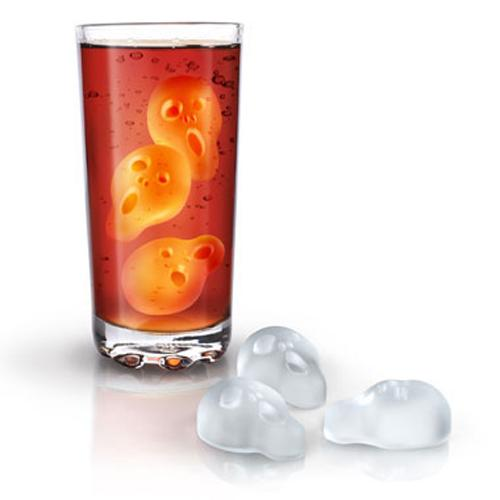 Fred & Friends Ice Screams Silicone Ice Cube Tray - Put Your Anxiety On Ice
