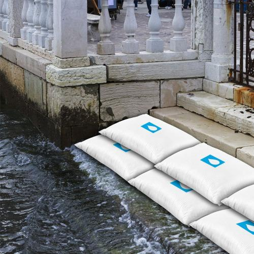 [Water 911] Self-Inflating Sandless Polymer Sandbag [Small] (45 x 30 x 3 cm) - 3 Pack!
