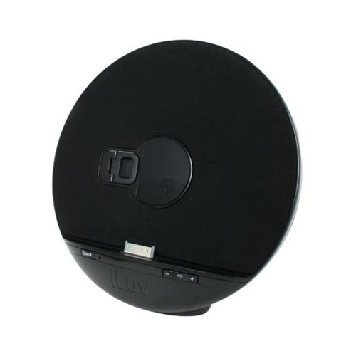 Original iLuv Apple iPhone 4/iPod Touch 4 Stereo Speaker Desktop Dock, IMM289 - Black