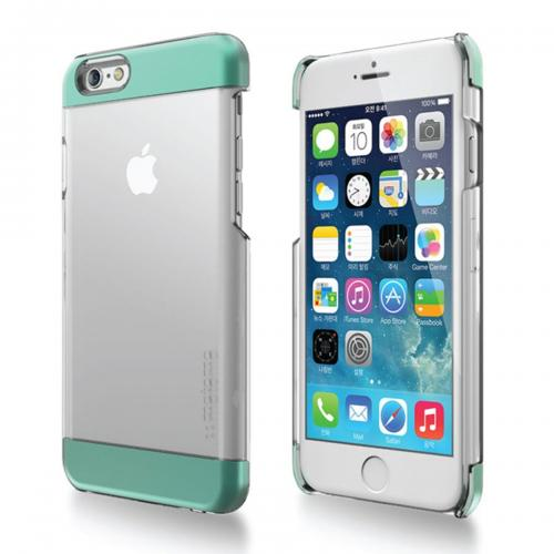 Apple iPhone 6 PLUS/6S PLUS (5.5 inch) Case, INO Wing Series [Mint] Slim Clear Form-Fitting Hard Plastic Protective Case Cover