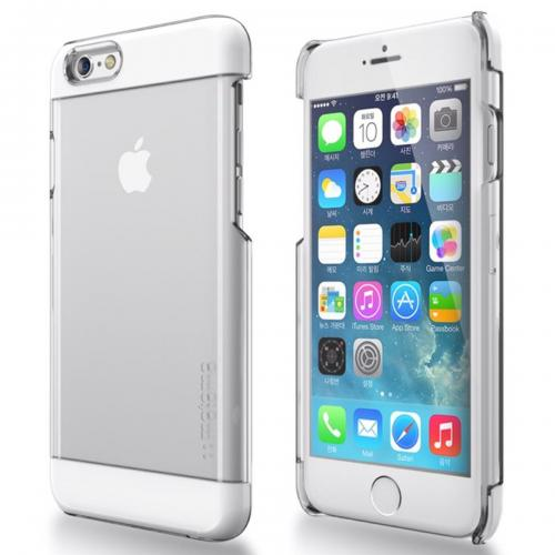 Apple iPhone 6 PLUS/6S PLUS (5.5 inch) Case, INO Wing Series [White] Slim Clear Form-Fitting Hard Plastic Protective Case Cover