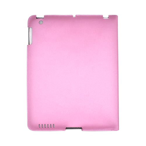 Original Hornettek Apple iPad 2 FlipIt Sleek Smart Cover Case/ Stand, IP2-HSL-PN - Metallic Pink