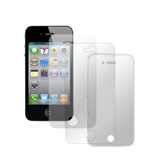 AT&T/ Verizon Apple iPhone 4, iPhone 4S Screen Protector Medley w/ Regular, Anti-Glare, & Mirror Screen Protectors