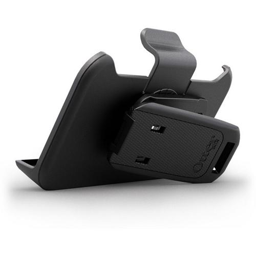 Original Otterbox AT&T/ Verizon Apple iPhone 4, iPhone 4S Defender Series Holster w/ Swivel Belt Clip & Stand - Black [BULK]