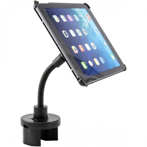 Arkon Black iPad Air Custom Fit Mount - Cup Holder Mount (IPA-CFH + GN033-SBH)