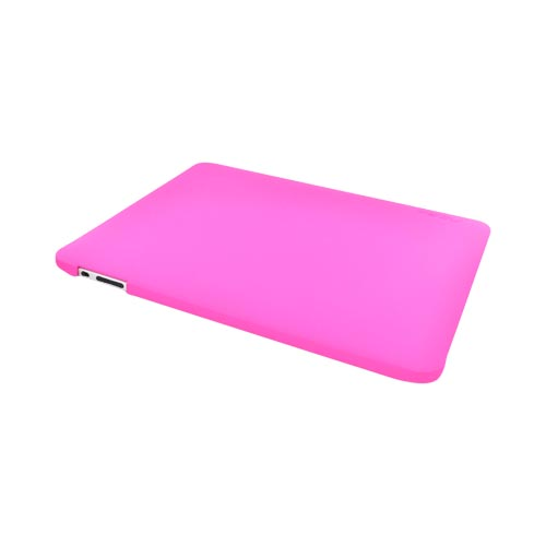 Original Incipio Feather Apple iPad (1st Gen) 1st Rubberized Hard Case w/ Screen Protector, iPad (1st Gen) 1st-115 - Hot Pink