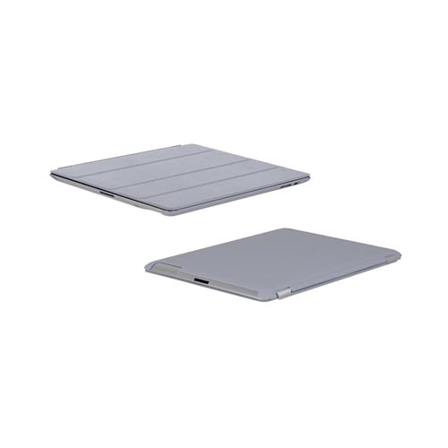 Original Incipio Smart Feather Apple iPad 2/ New iPad Ultra Thin Case, IPAD-226 - Gray (Must be used with Apple Smart Cover)
