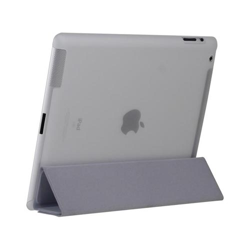 Original Incipio Smart Feather Apple iPad 2/ New iPad Ultra Thin Case, IPAD-235 - Frost White (Must be used with Apple Smart Cover)