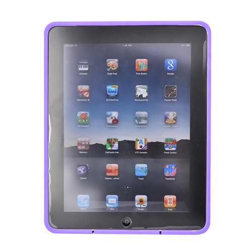 Original Speck Apple iPad (1st Gen) 1st Candyshell Hard Case w/ Rubber Inner Padding , iPad (1st Gen) 1st-CNDY-A15A13 - NightShade Purple