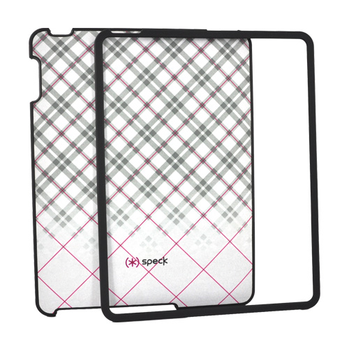 Original Speck Apple iPad (1st Gen) 1st Fitted Snap-On Case, iPad (1st Gen) 1st-FTD-A02A019 - Fadeaway Pink/Gray