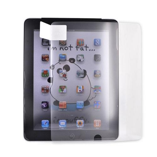 Apple iPad (1st Gen) Combo Package w/ iClooly Stylus, Screen Protector and Hard Case - Clear