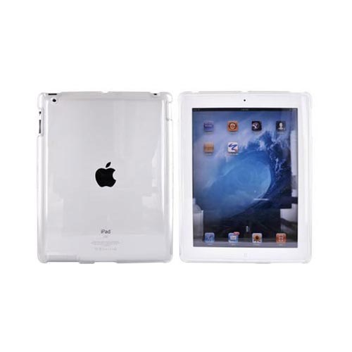 Apple iPad 2 Bundle Package w/ Clear Hard Case, Screen Protector, & Black iClooly Stylus & Pen