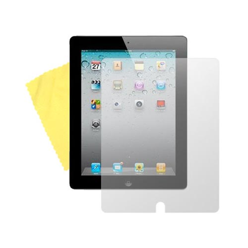 Apple iPad 2/ New iPad Screen Protector Medley w/ Regular, Anti-Glare, & Mirror Screen Protectors