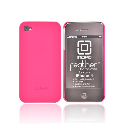 Original Incipio Feather Apple Verizon/ AT&T iPhone 4, iPhone 4S Hard Case, IPH-514 - Pink