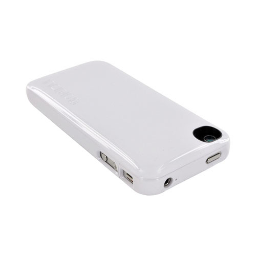 Original Incipio AT&T/ Verizon iPhone 4, iPhone 4S offGRID Backup Battery Case (1450 mAh) w/ Micro USB Cable, IPH-566 - Solid White