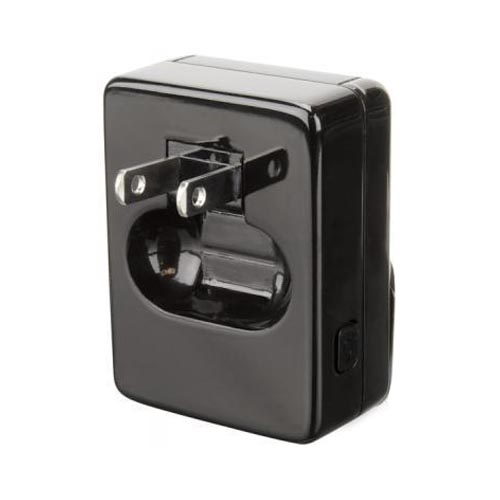 Original Scosche reviveLITE 2 Universal Apple iPhone/ iPod Docking Home/ Travel Charger w/ Extra USB Port, IPHC2 - Black