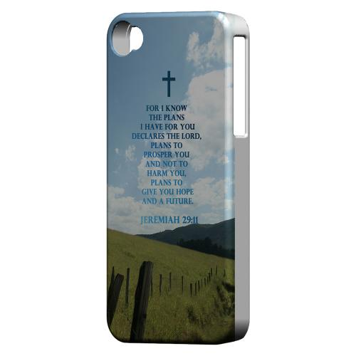 Geeks Designer Line (GDL) Bibles Series Apple iPhone 4 Matte Hard Back Cover - Jeremiah 29:11