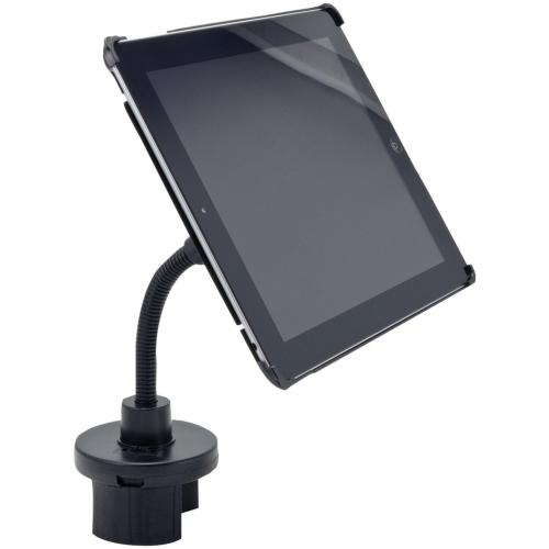 Arkon Black iPad 4 Mount - Cup Holder Mount with Custom iPad 3 and 2 Holder (IPM3-CFH + GN033-SBH)