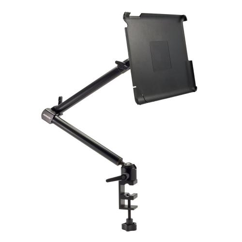 "Arkon Black iPad 4 Mount - Heavy Duty 22"" C-Clamp Mount with Custom iPad 3 and 2 Holder (IPM3-CFH + HD002)"