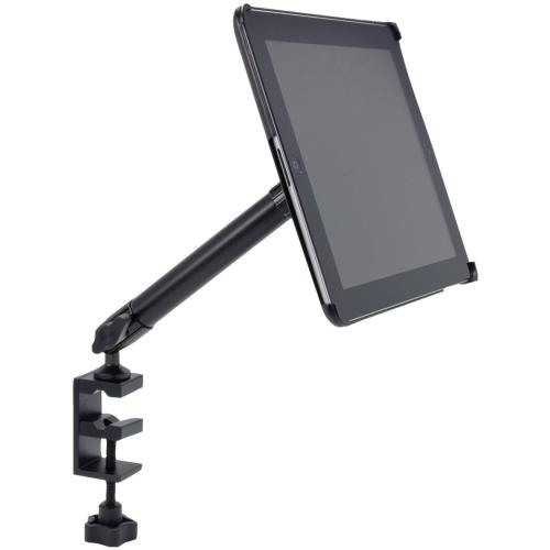 "Arkon Black iPad 4 Mount - Heavy Duty 10"" C-Clamp Mount with Custom iPad 3 and 2 Holder (IPM3-CFH + HD004)"