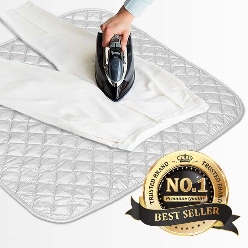 Portable Ironing Mat, Iron Anywhere - Ideal For Small Apartments, Travel, Office, and More!