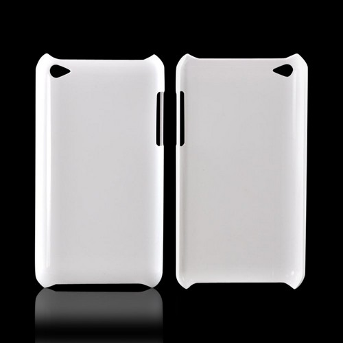 Apple iPod Touch 4 DIY Essential Bundle w/ Glossy White Ultra Slim Hard Case, Pearl Bow, & E-6000 Glue