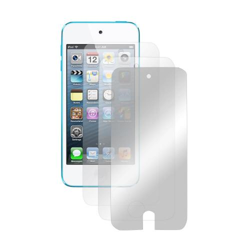 Apple iPod Touch 5 Screen Protector Medley w/ Regular, Anti-Glare, & Mirror Screen Protectors