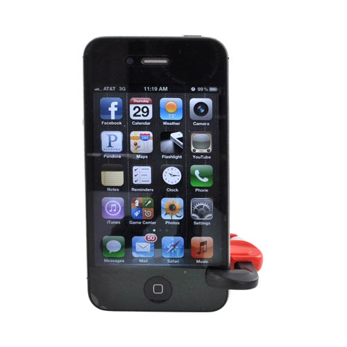 iWrench Universal Mini Wrench Phone Stand - Red/ Black