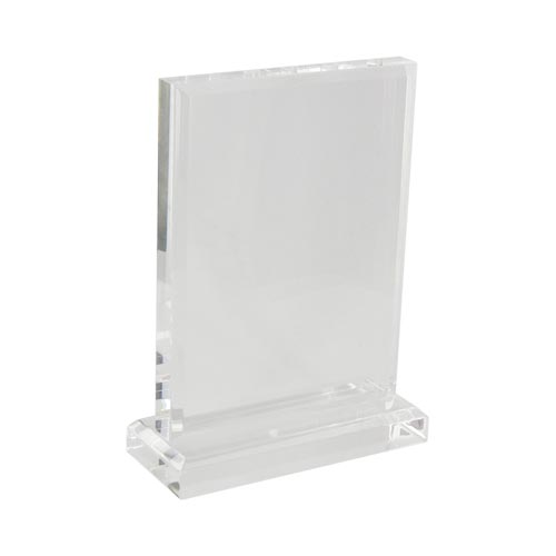 Engravable Acrylic Plaque (8x6x2) - Clear