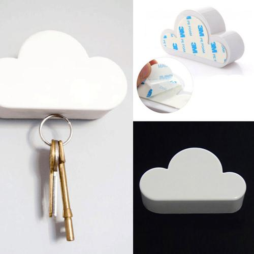 White Cloud Magnetic Key Holder - A great way to keep your keys in place!