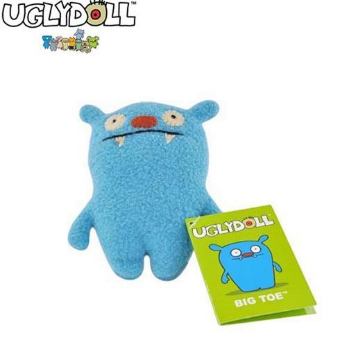 UGLYDOLL BigToe Charm + Kidzsafe KonoAudio Blue 3.5mm Headset, COMBO for BLUE Lovers