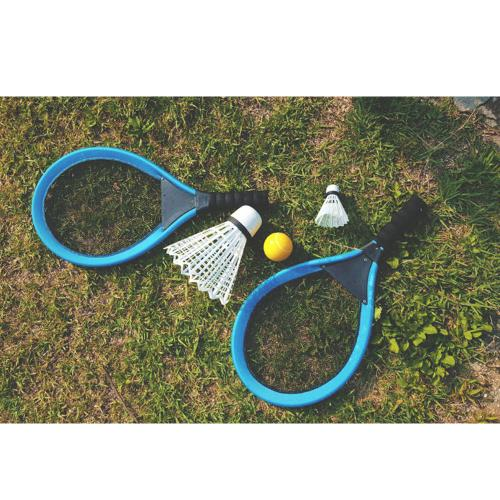 Badminton Set for Kids with 2 Rackets, Ball and Birdie - Fun for All Ages!