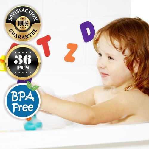 Soft EVA Foam Alphanumeric Letters Bath Puzzle for Kids