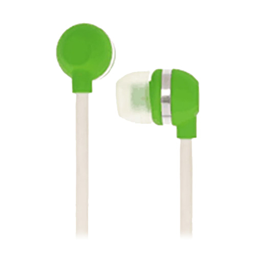 Original KonoAudio KidzSafe Volume Safe Earbud Headphones, 3.5mm KN-2010-GRN - Green