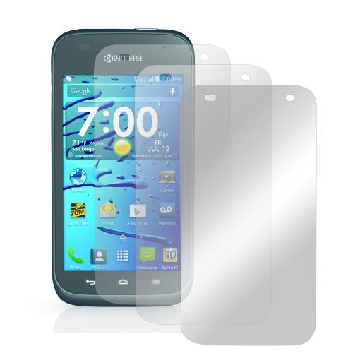 Screen Protector Medley w/ Regular, Anti-Glare, & Mirror Screen Protectors for Kyocera Hydro Edge