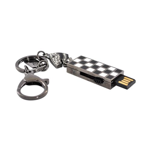 Original DBLY 4GB Flash Drive, L1102-GM4 - Gray Knight Chess