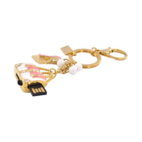 Original DBLY 4GB Flash Drive, L1103-G4 - Pink Purse
