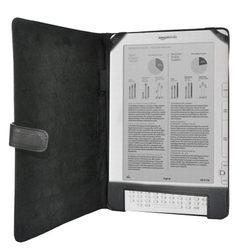 Amazon Kindle DX Melrose Leather Carry Case - Black